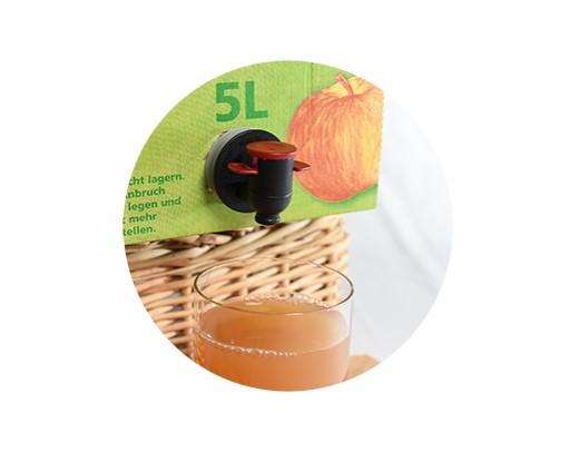 5 Liter Saftbox – 100% Naturtrüber Apfelsaft (Direktsaft)